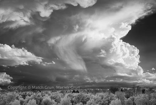 Summer Storm Over The Front Range